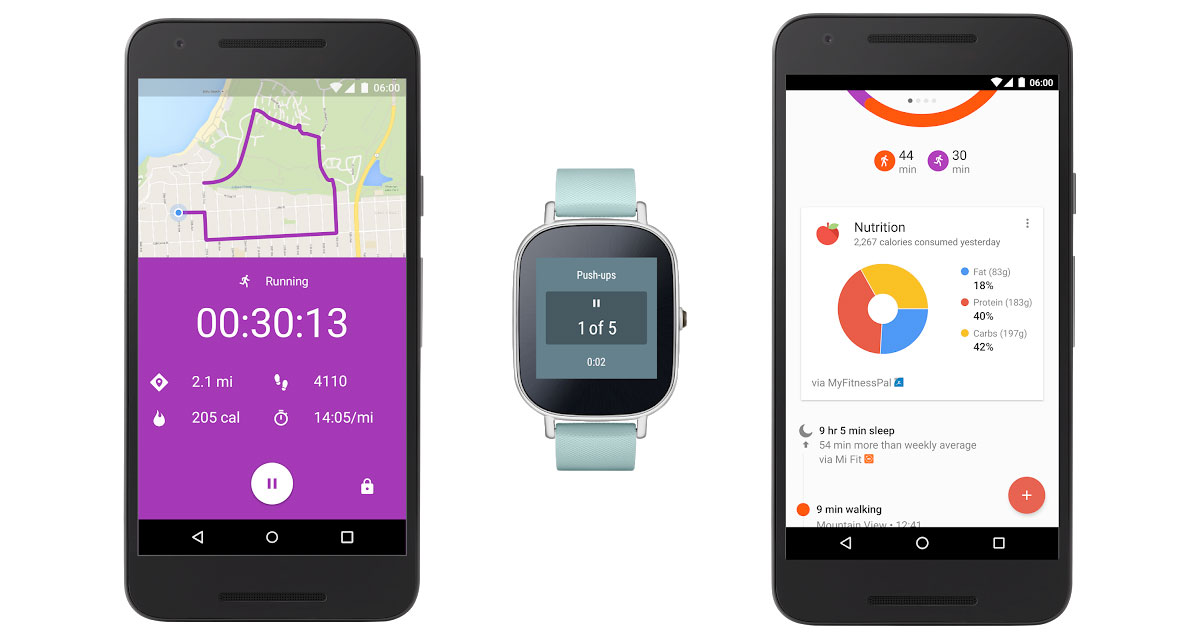 Google Fit Gets Real Time Stats And Grabs Data From More Wearables