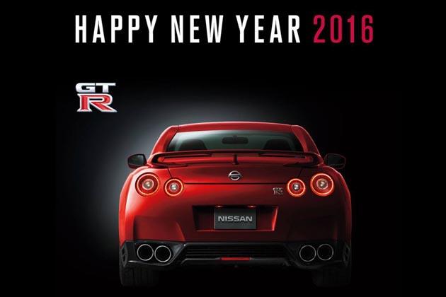 新年のあいさつメールに!! 日産が「GT-R」など27車種の年賀素材を一挙公開!!