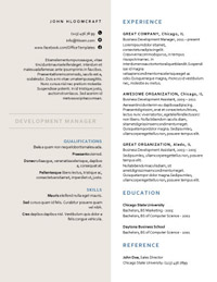 25 great resume templates for all jobs aol finance