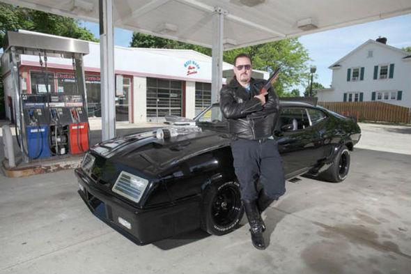 Mad Max replica car