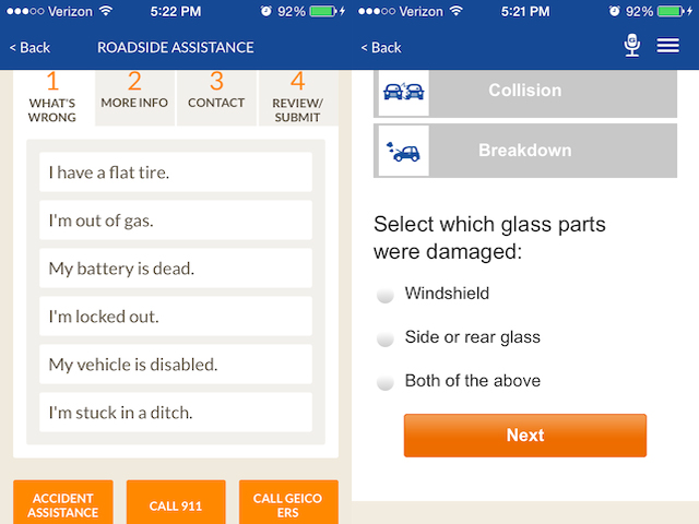 Geico Roadside Assistance Phone >> Updated Geico Mobile App Brings You Gas Lets You Report