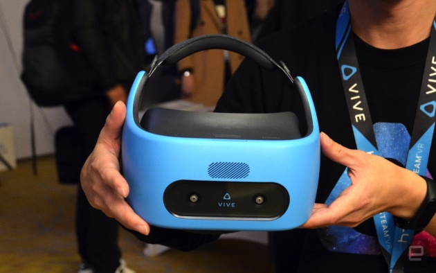 HTC shows its standalone Vive Focus VR headset