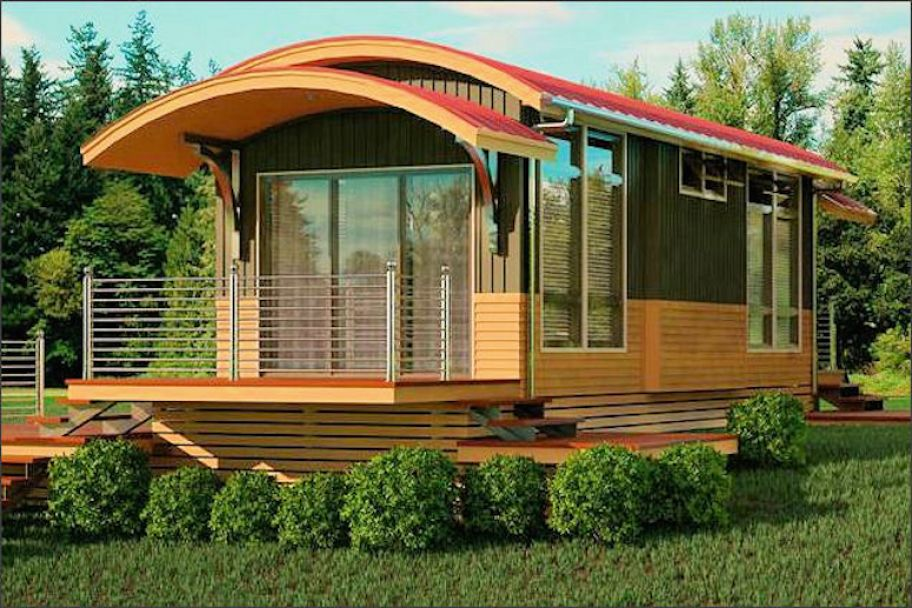 7 prefab eco houses you can order today aol lifestyle Small eco home plans