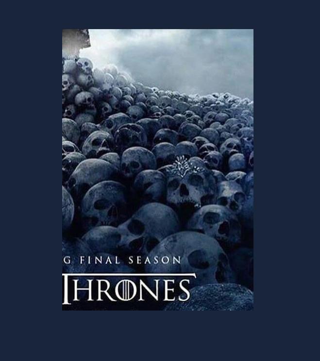 Es falso el cartel de la octava temporada de 'Game of