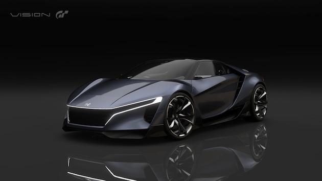 ホンダが特許申請していた小型ミドシップ・スポーツカーの正体は「ビジョン グランツーリスモ」だった!