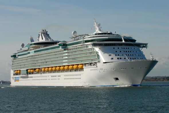 British boy found unconscious at the bottom of cruise ship swimming pool
