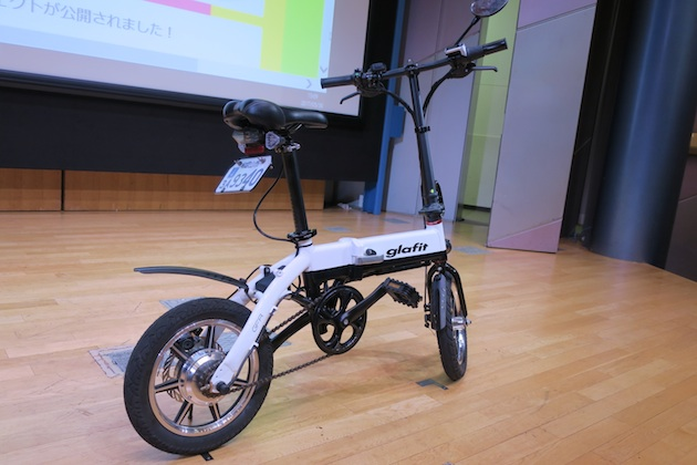 【試乗ビデオ】ペダルも漕げる電動バイク「glafit」に乗ってきた。クラウドファンディングで1億2,000万円以上を調達