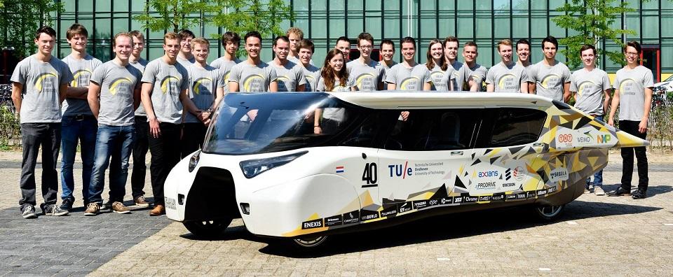 Solar Team Eindhoven 公布新一代太阳能家用车