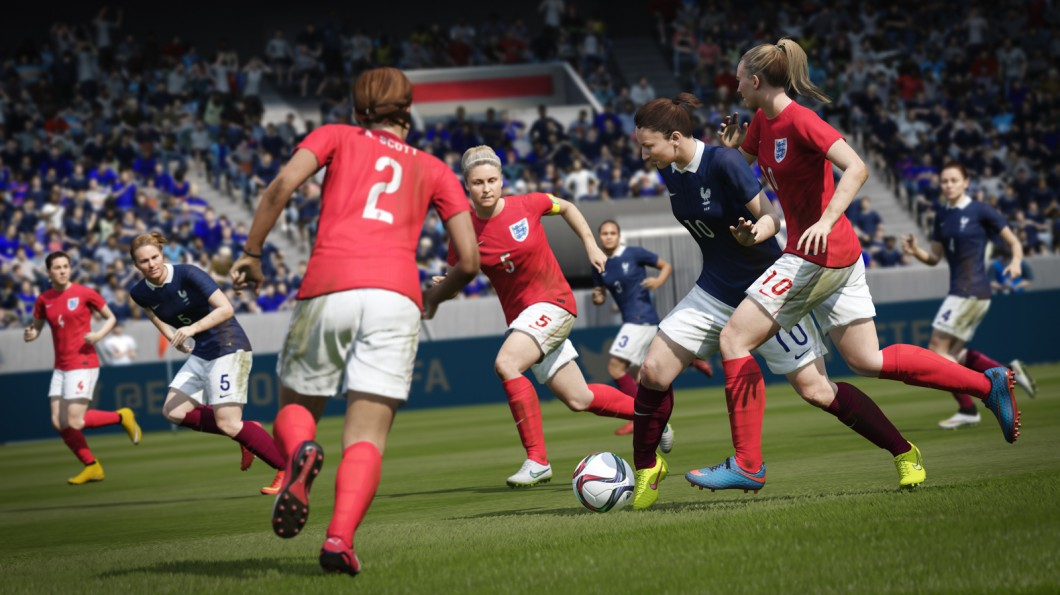 Behind EA's push to put more women in sports games