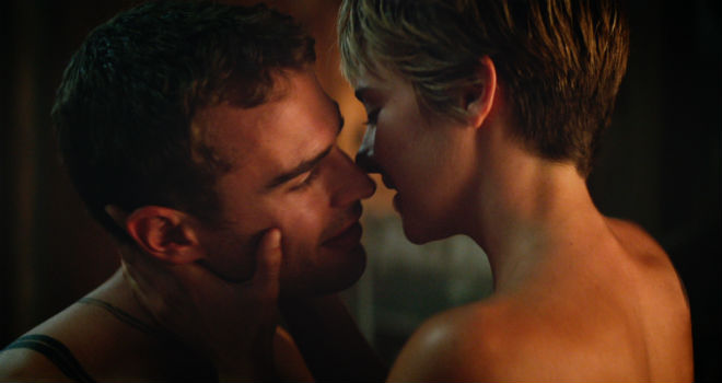 tris and four in insurgent