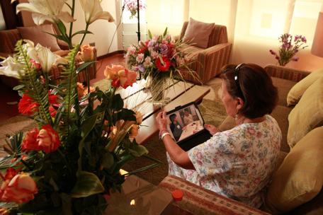 Grandma's iPad