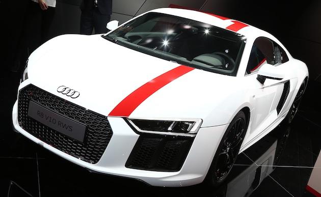 アウディ、「R8」にレースカーと同じ2輪駆動の限定モデル「R8 V10 RWS」を設定