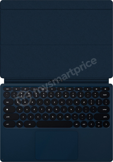 Google Pixel Slate keyboard