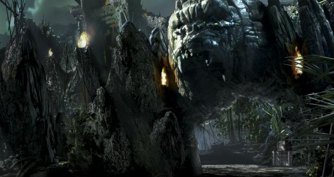 Skull Island: Reign of Kong entrance