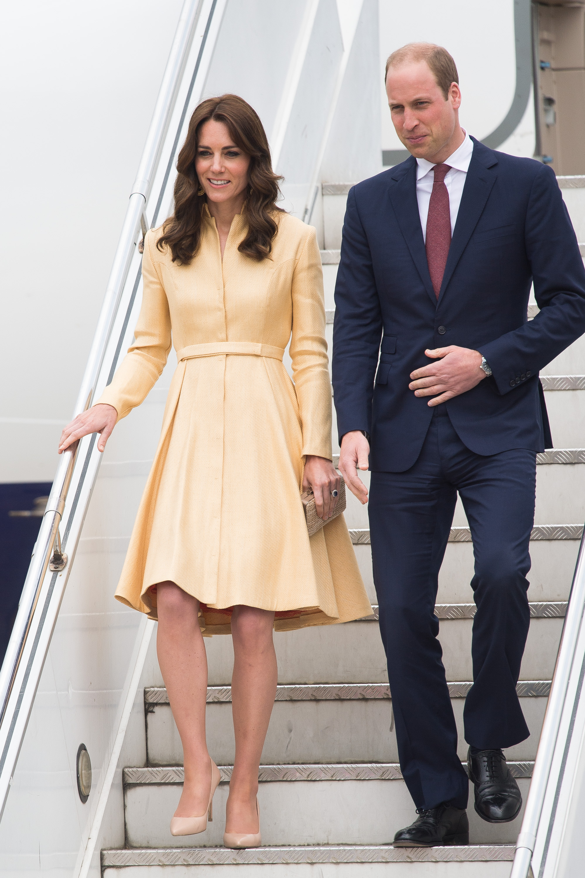 The Duke & Duchess Of Cambridge Visit India & Bhutan