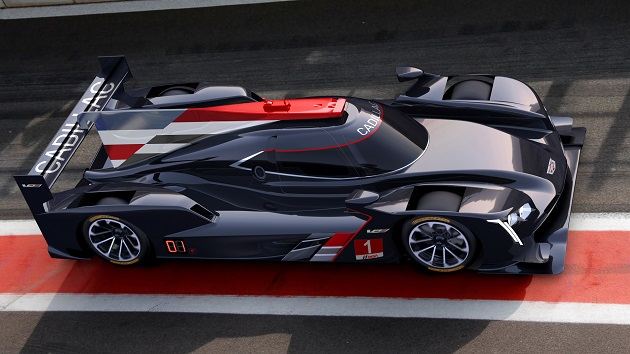 キャデラック、新型プロトタイプ・レースカー「DPi-V.R」で2017年から耐久レースに復帰