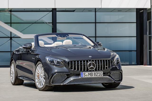 Mercedes-AMG S 65 Cabriolet, 2017. Exterieur: anthrazitblau metallic;Kraftstoffverbrauch kombiniert: 12,0 l/100 km; CO2-Emissionen kombiniert: 272 g/km*  Mercedes-AMG S 65 Cabriolet, 2017. Exterior: anthracite blue metallic;Fuel consumption combined: 12.0 l/100 km; CO2 emissions combined: 272 g/km*