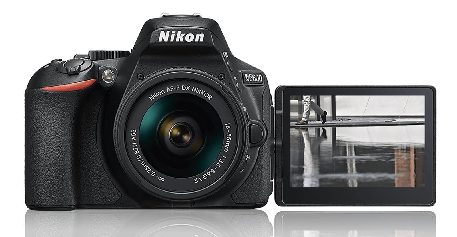 Nikon 入門新兵 D5600 登場