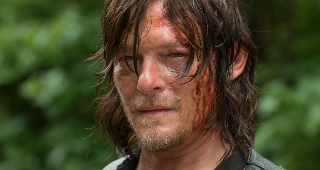 Norman Reedus as Daryl Dixon in AMC's THE WALKING DEAD. Season 6 midseason premiere.