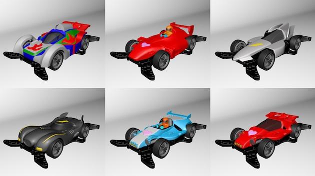 タミヤ「ミニ四駆」のボディを3Dプリンタで作れる親子工作体験教室が開催