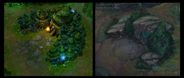 Riot Games summoning update to League of Legends\' 5v5 map