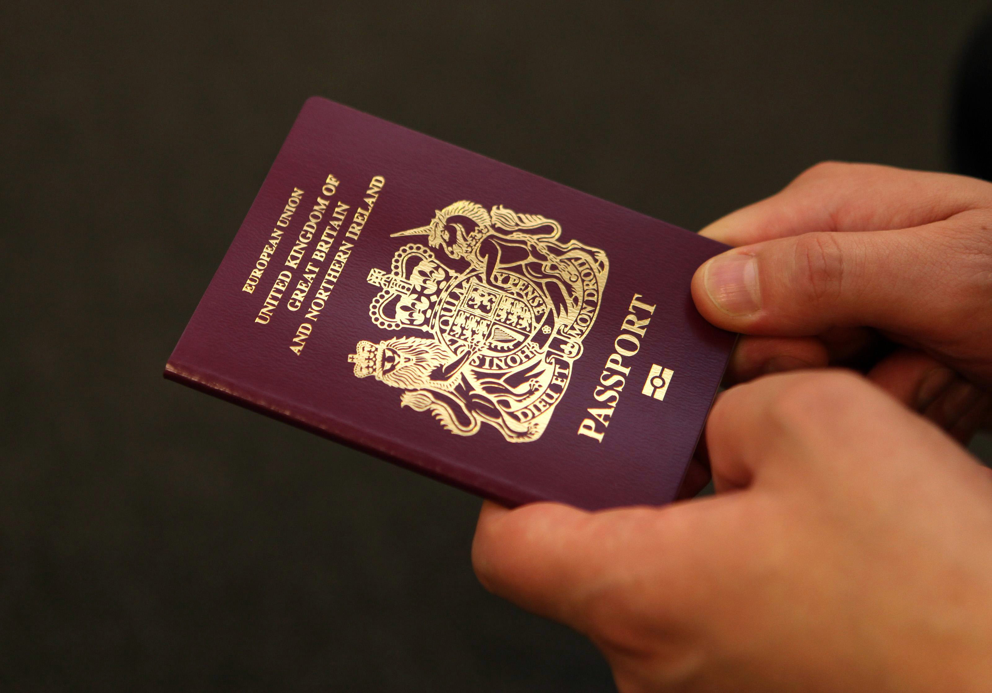 """File photo dated 08/10/10 of a passport, as patients could be required to show their passports at hospitals under new government guidelines to tackle health tourism, according to a report. PRESS ASSOCIATION Photo. Issue date: Monday April 13, 2015. The Department of Health (DoH) issued guidance to hospitals in which it said services has a """"legal obligation"""" to ensure patients are entitled to free healthcare, the Daily Mail reported. See PA story HEALTH Passport. Photo credit should read: Katie Collins/PA Wire"""