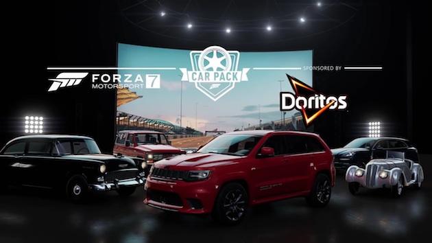 『Forza Motorsport 7』最新カーパックで、ジープ「グランドチェロキー トラックホーク」や新型ポルシェ「カイエン」が登場!