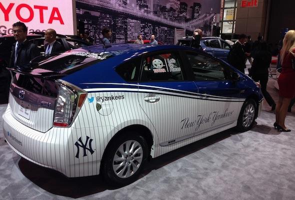 Yankees Toyota Prius