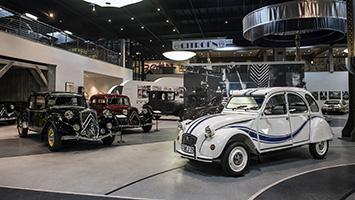 Mullin Museum Citroën Exhibit
