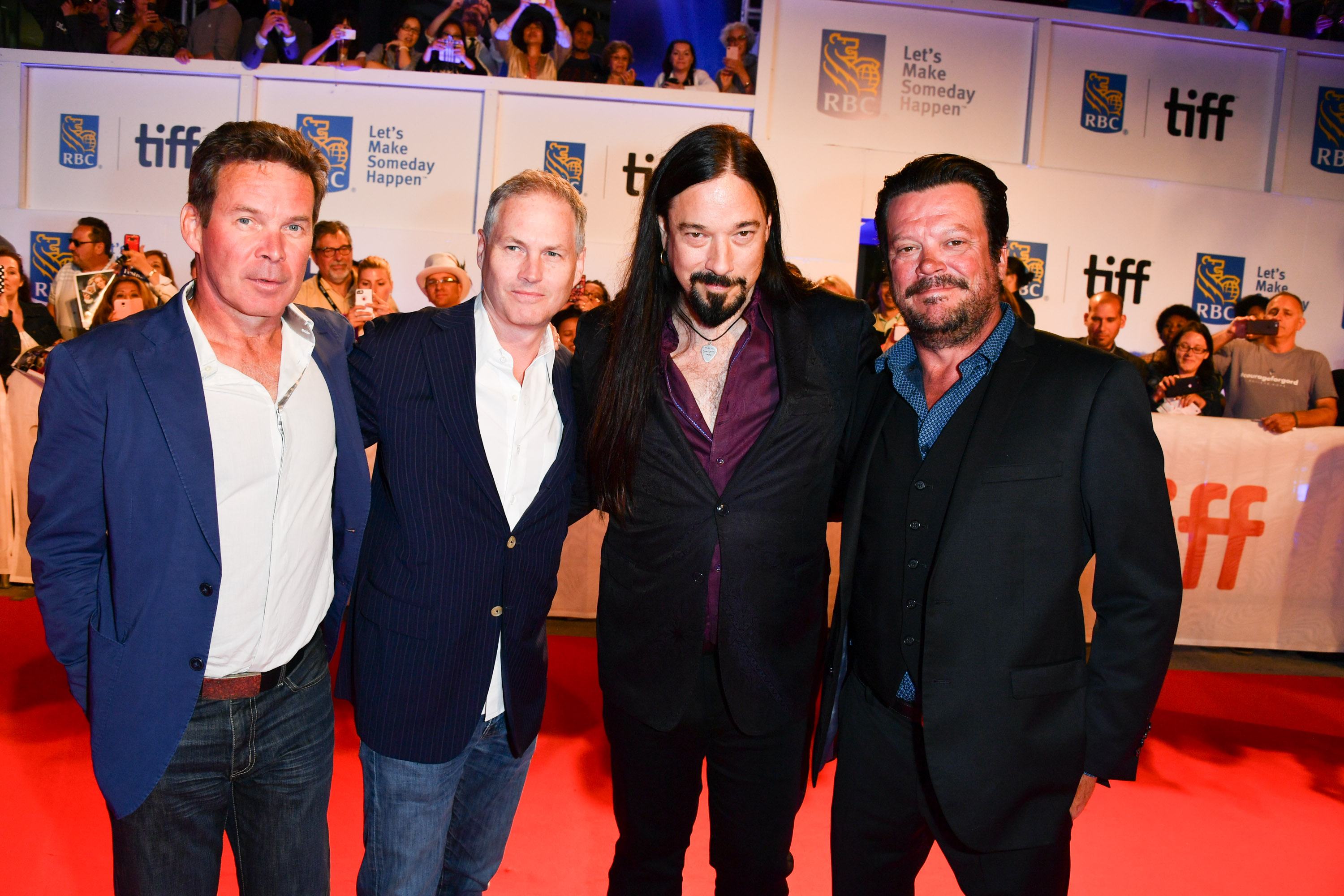 The Tragically Hip (minus Gord Downie), from left: Gord Sinclair, Johnny Fay, Rob Baker and Paul Langlois,...