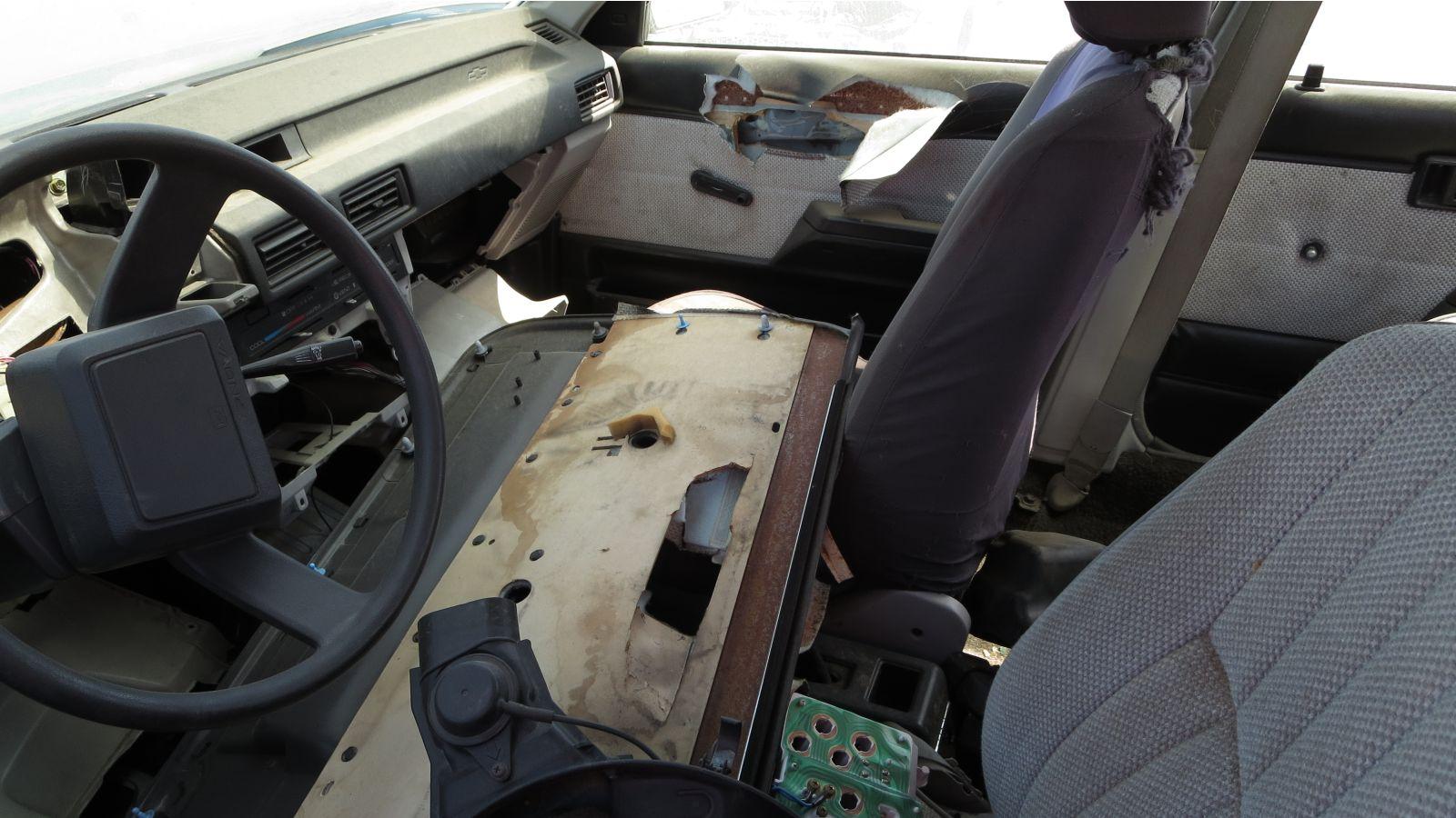 Junkyard Gem: 1988 Chevy Nova Sedan | Autoblog