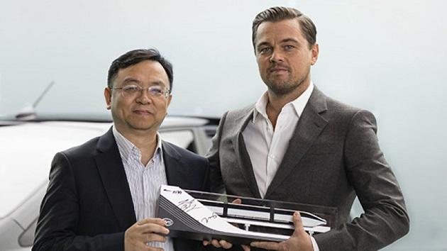 レオナルド・ディカプリオが、中国の自動車メーカーの宣伝役に