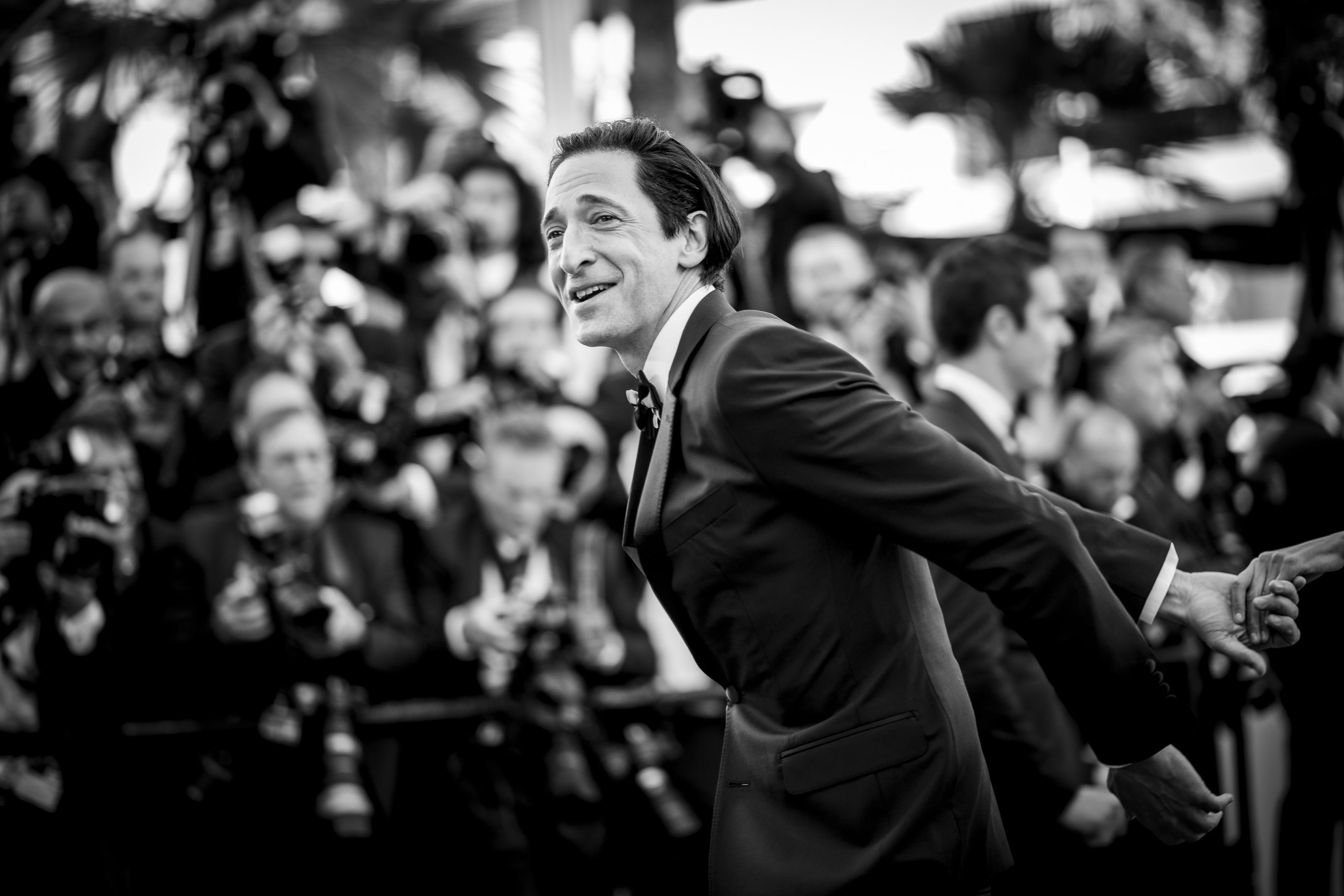Adrien Brody au Festival de Cannes