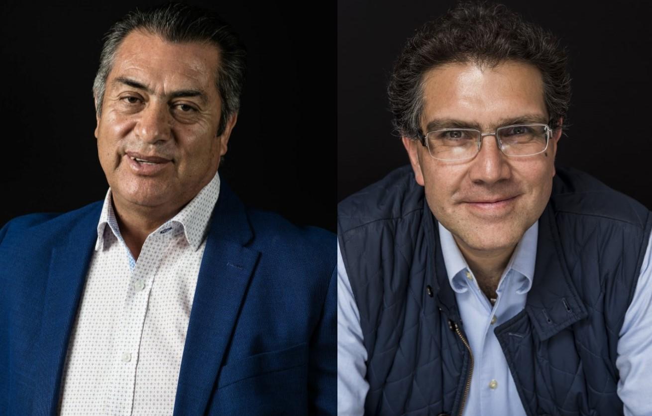 Jaime Rodríguez Calderón El BroncoyArmando Ríos