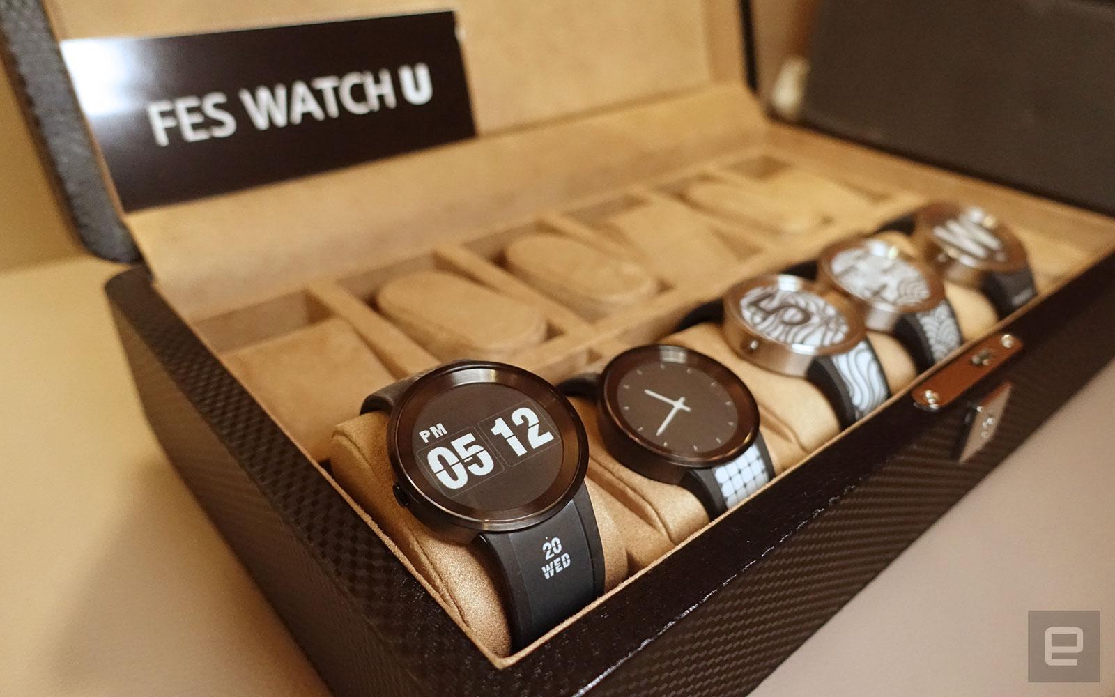 索尼电子纸手表 FES Watch U 正式抵港开卖