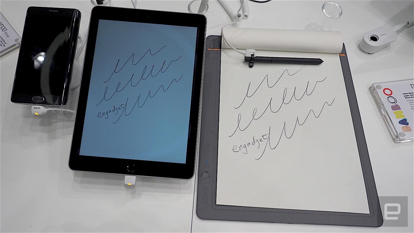 Wacom 推出两款具有数位化功能的笔记本