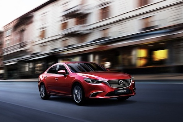 Refreshed Mazda 6