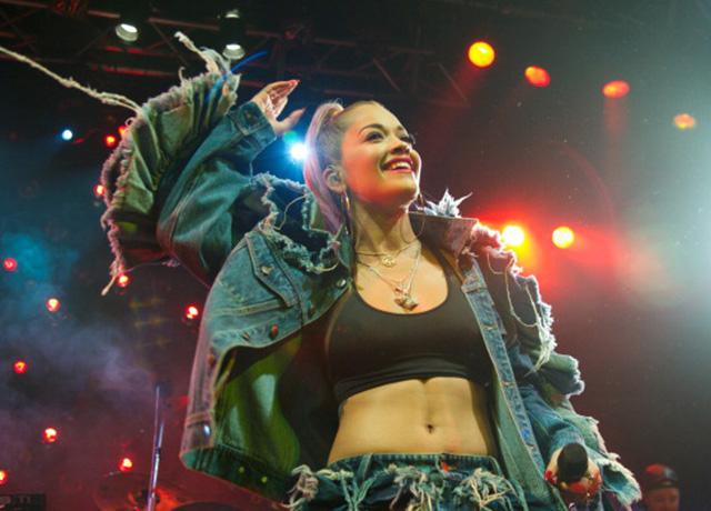 Rita Ora performs in Madrid