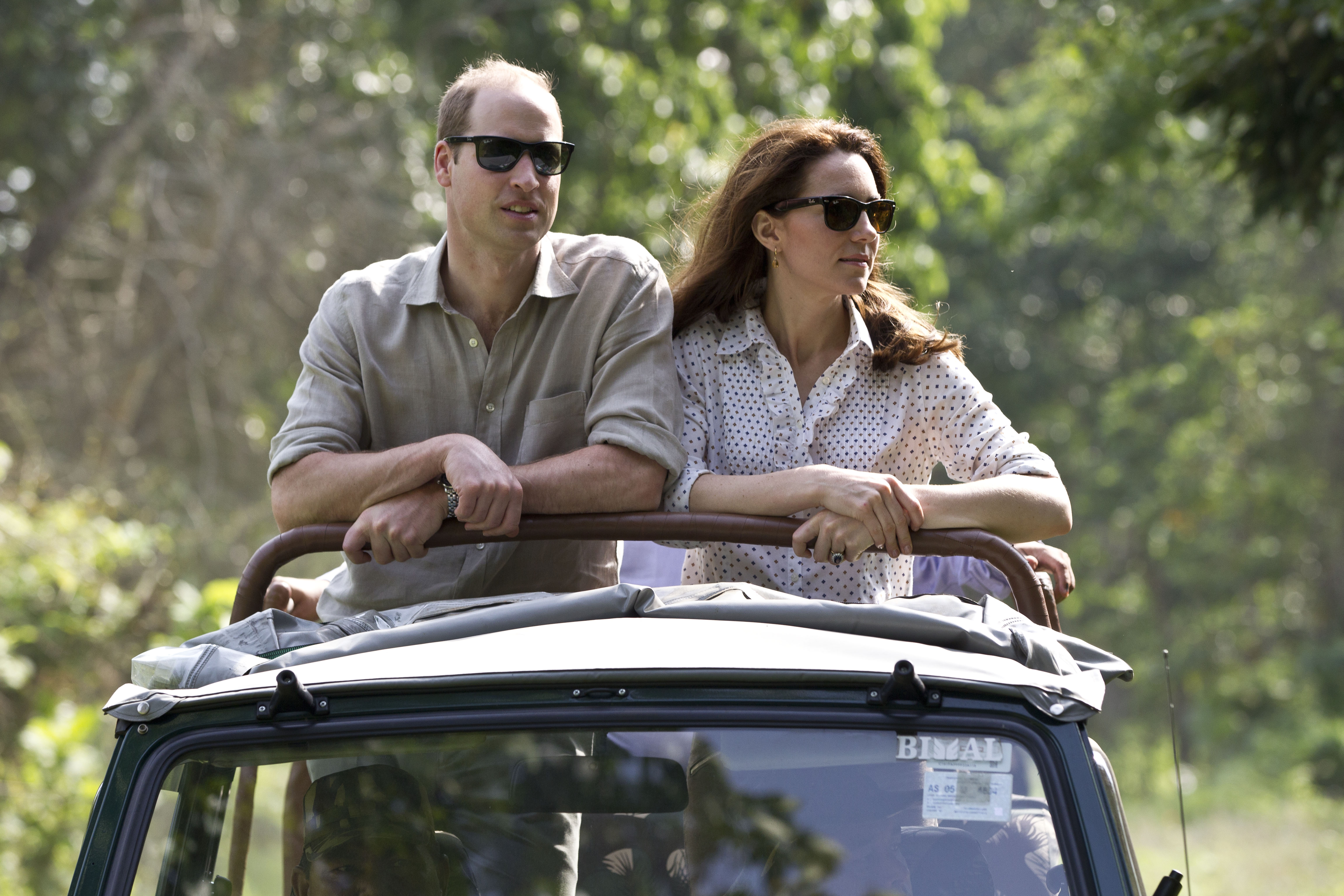 The Duke & Duchess Of Cambridge Visit India & Bhutan - Day 4