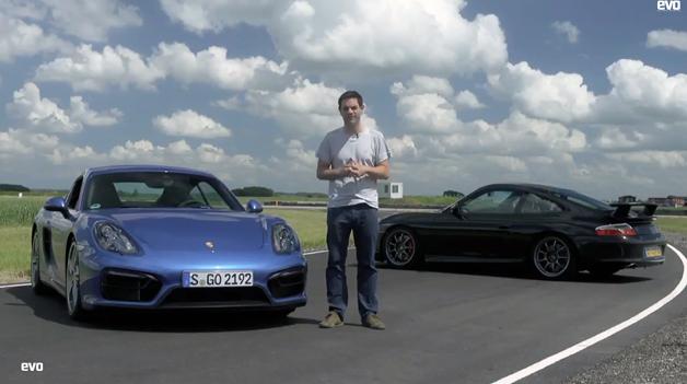 【ビデオ】ポルシェ「ケイマンGTS」と「996型 911GT3」を徹底比較!