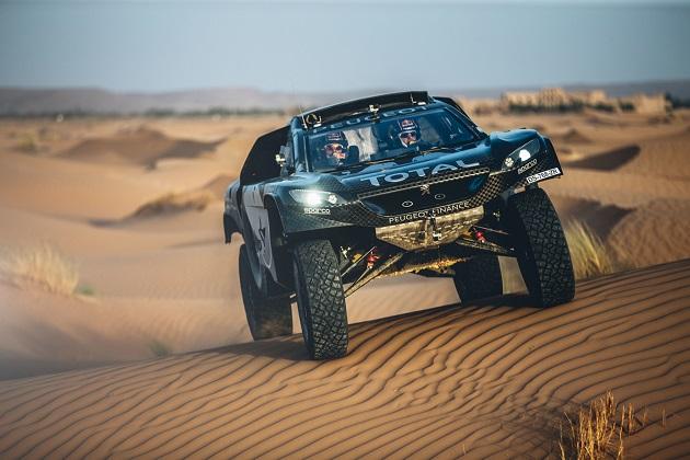 プジョー、性能アップした新型ダカール・ラリー参戦マシン「2008 DKR16」を発表