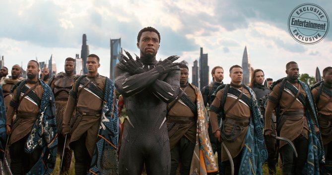 MARVEL'S AVENGERS INFINITY WAR Chadwick Boseman as T'Chaka  Black Panther