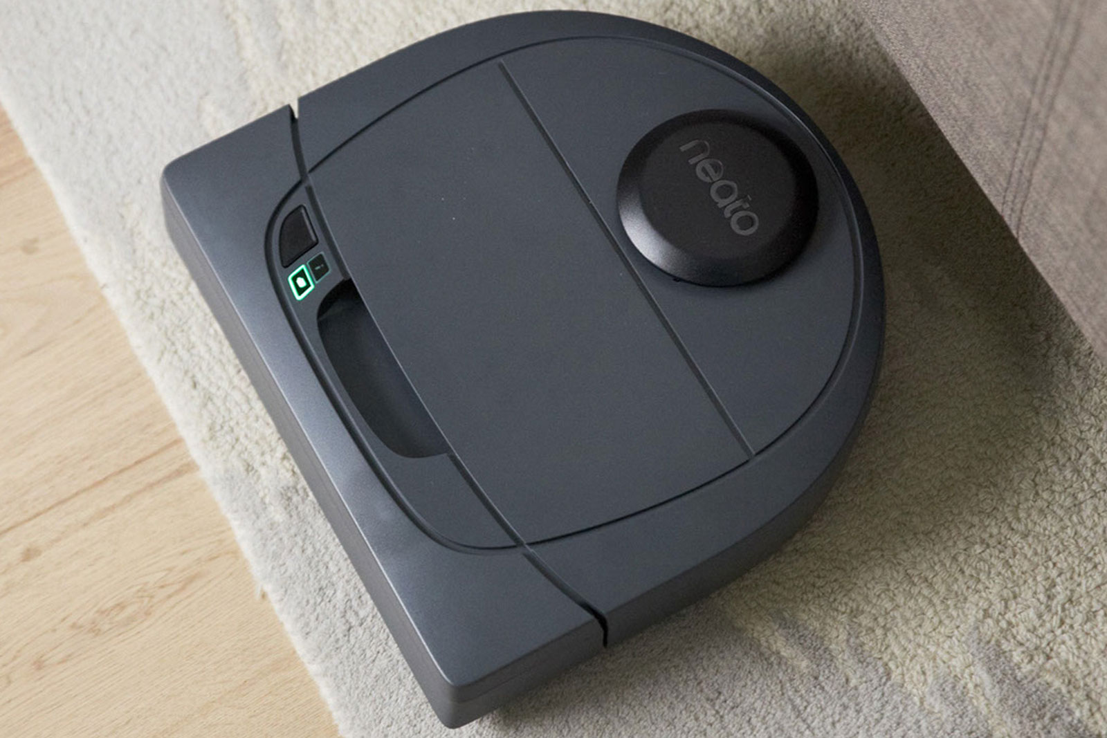 neato 39 s latest robot vacuums are much more affordable. Black Bedroom Furniture Sets. Home Design Ideas