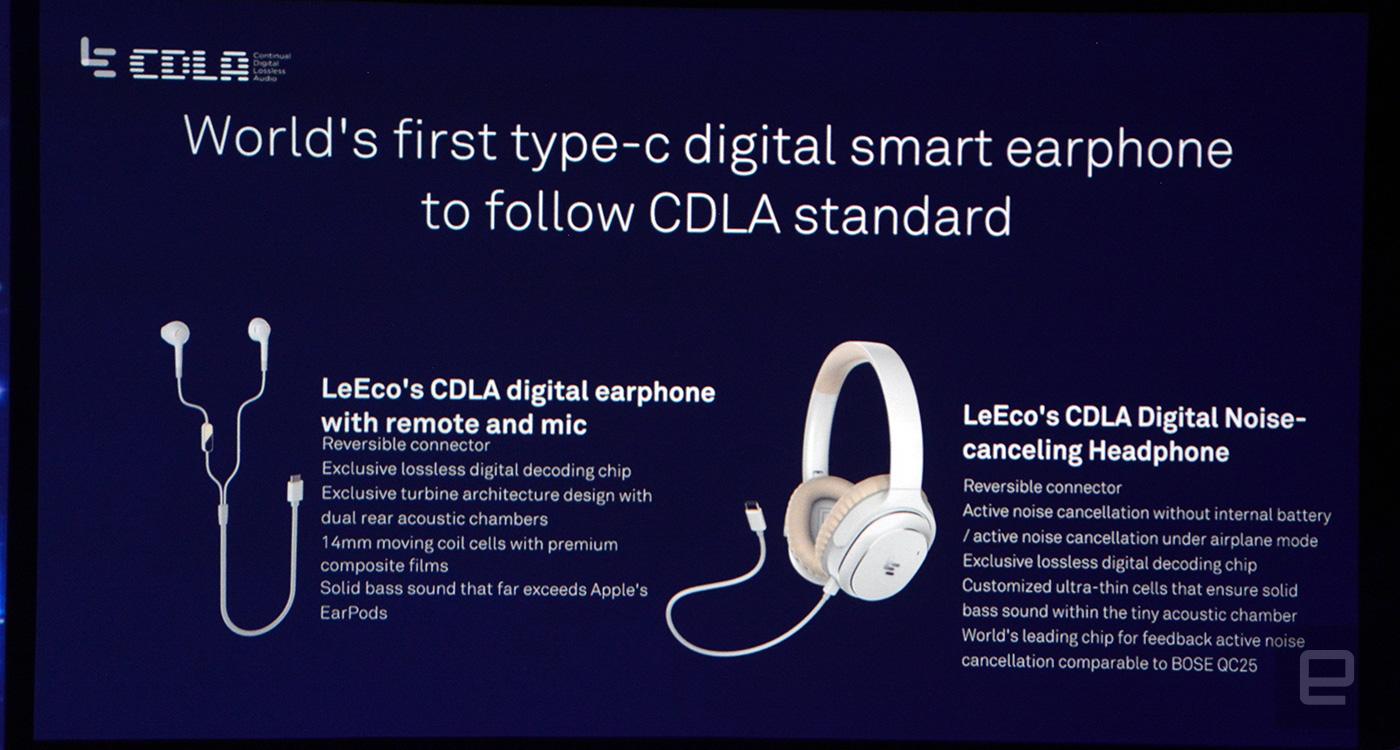 LeEco's three new smartphones ditch the headphone jack