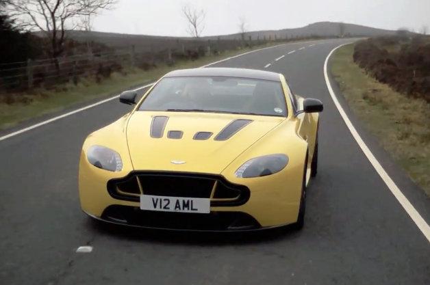 【ビデオ】アストンマーティン「V12ヴァンテージS」の怒濤の走りをレポート!