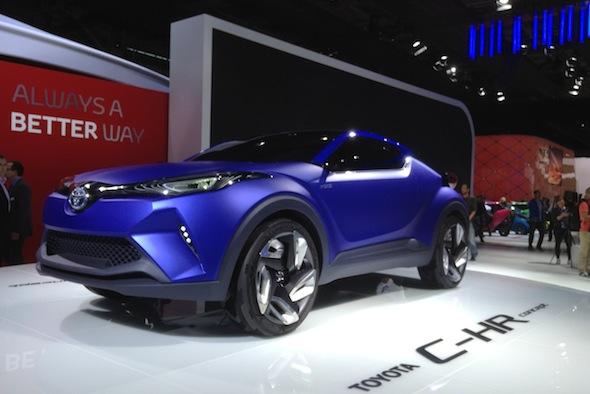 Paris motor show Toyota SUV