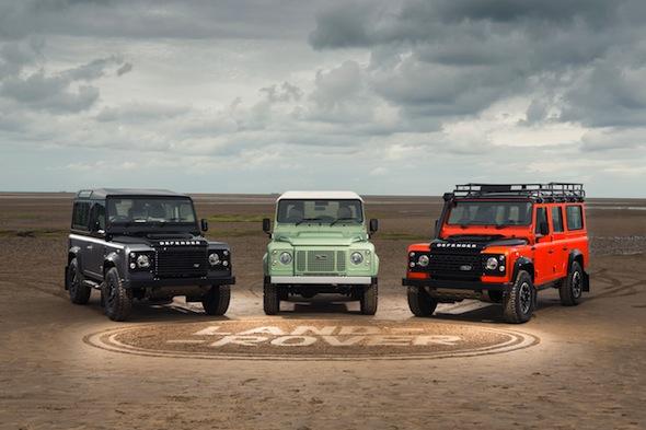 Land Rover Defender special editions