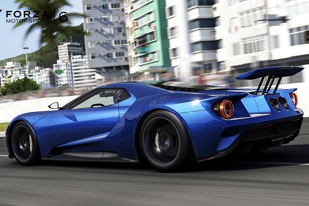 【ビデオ】『Forza Motorsport 6』の映像から、「フォードGT」のリアウイングが動く様子が明らかに!