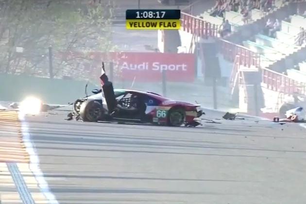 【ビデオ】新型「フォードGT」が、スパ・フランコルシャンでクラッシュ!