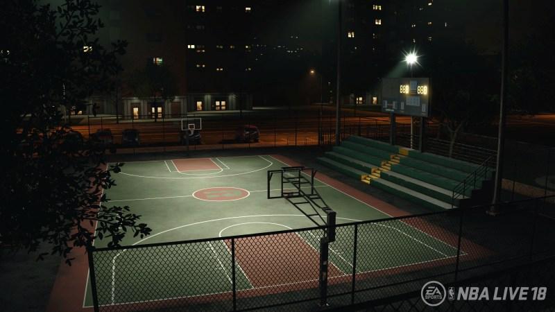 Rucker Park arena - NBA Live 18